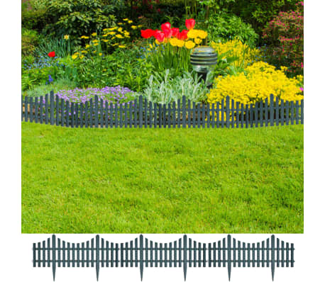 Green Lawn Divider 17 pcs 32.8 ft[1/8]