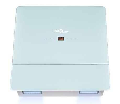 vidaXL Hotă de bucătărie din sticlă securizată, alb, 600 mm[5/12]