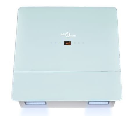 vidaXL Gartraukis, grūdintas stiklas, baltas, 600 mm[5/12]