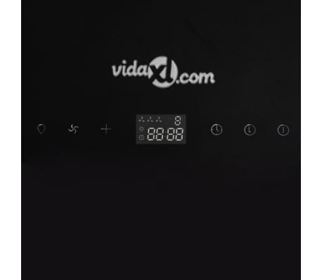Cappa Vetro temperato Nero con Display 600 mm[9/13]