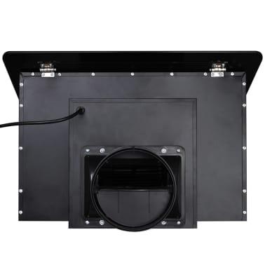 Afzuigkap van getemperd glas met display 600 mm (zwart)[7/13]