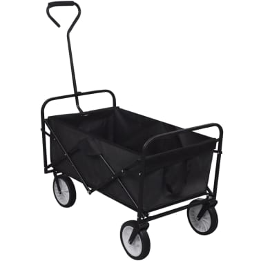 Black Foldable Garden Trolley[1/5]