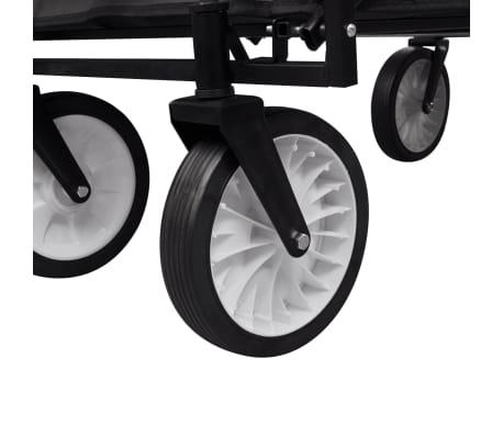 Black Foldable Garden Trolley[3/5]