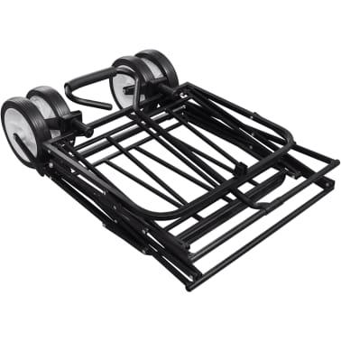 Black Foldable Garden Trolley[5/5]