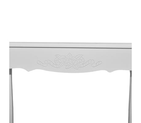 White Dressing Console Table[5/6]