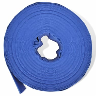 "vidaXL Flat Hose 50 m 2"" PVC Water Delivery[2/4]"