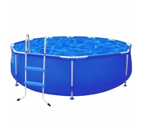 schwimmbecken plantschbecken schwimmbad leiter 360 x 76 cm g nstig kaufen. Black Bedroom Furniture Sets. Home Design Ideas