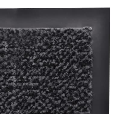 Støvkontroll dørmatte 150 x 90 cm (antrasitt)[4/4]