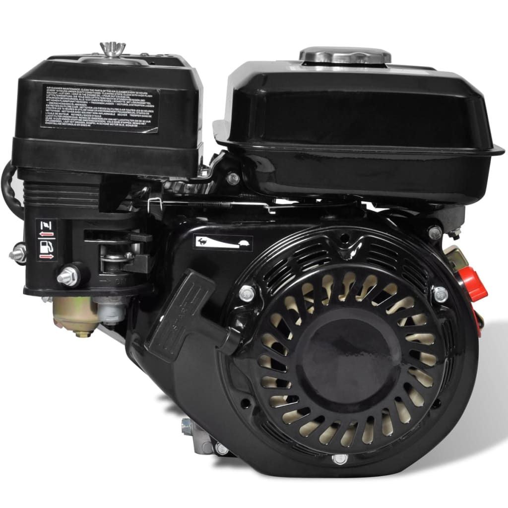 Comwinkel vidaXL Benzinemotor 6,5 PK 4,8 kW zwart