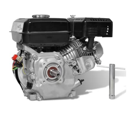 vidaXL Petrol Engine 6.5 HP 4.8 kW Black[3/11]