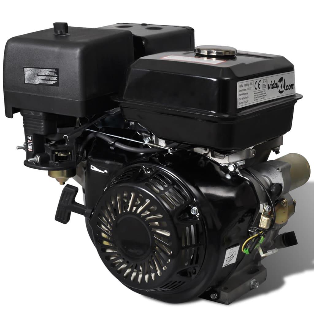 Afbeelding van vidaXL Benzinemotor 15 PK 9,6 kW zwart