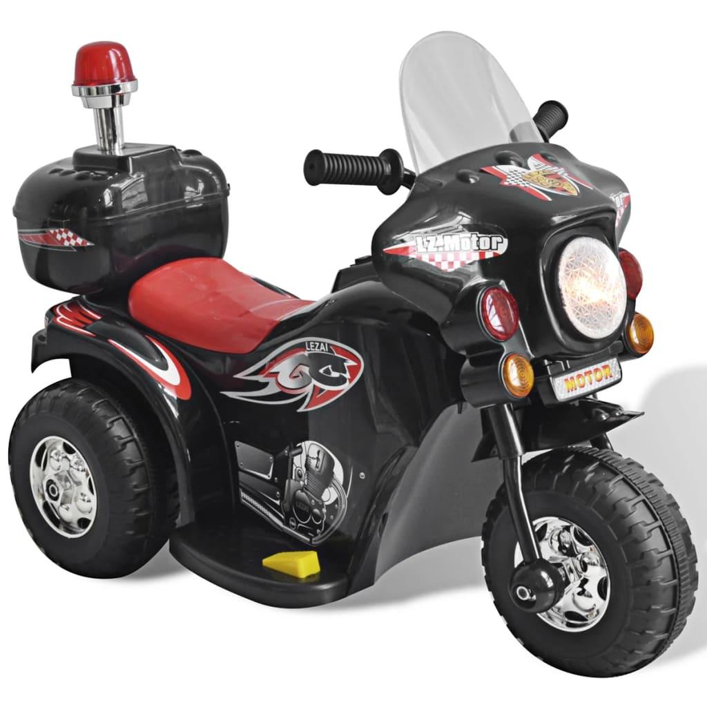 Dětská motorka na baterie (černá)