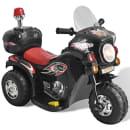 Kindermotorrad Batteriebetrieben Schwarz