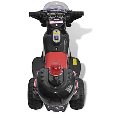 Motocicleta de jucărie electrică Negru[4/6]