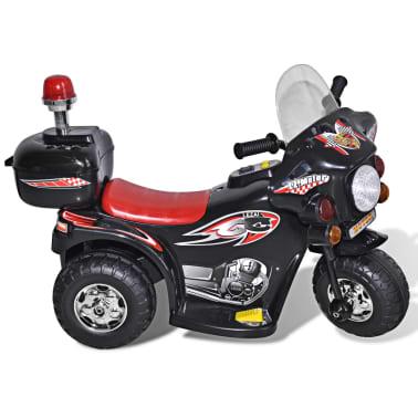 Motocicleta de jucărie electrică Negru[5/6]