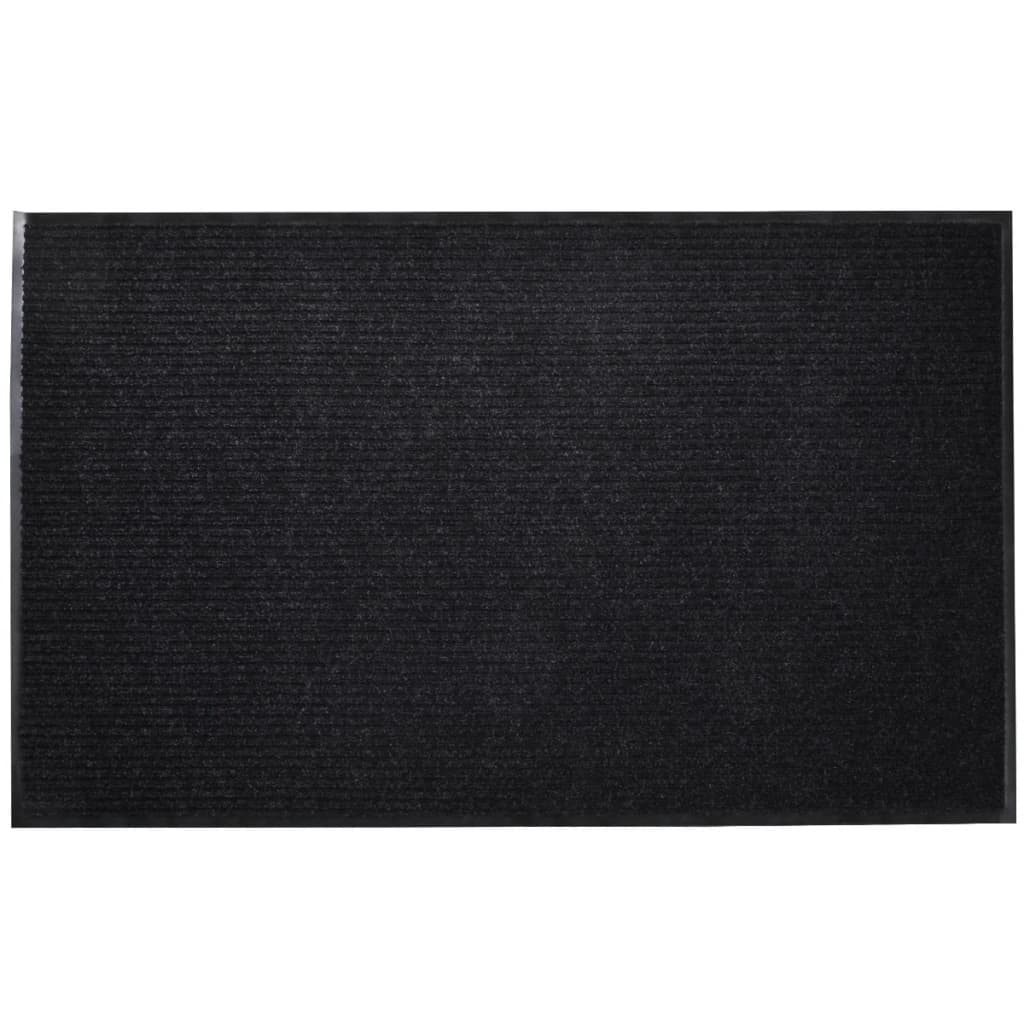 Černá PVC rohožka 90 x 60 cm