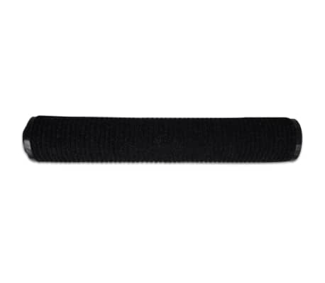 "Black PVC Door Mat 35"" x 24""[4/6]"