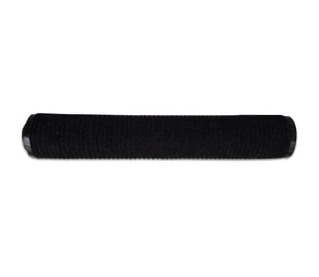 """Black PVC Door Mat 35"""" x 47""""[4/6]"""