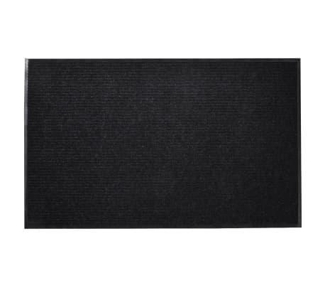 "Black PVC Door Mat 35"" x 59"""
