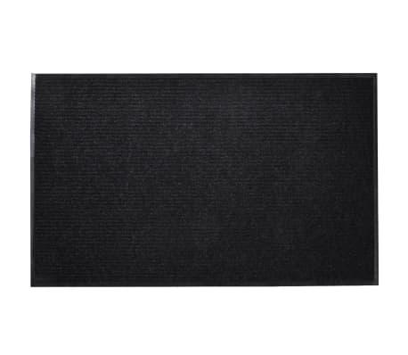 schwarze pvc t rmatte 120 x 180 cm g nstig kaufen. Black Bedroom Furniture Sets. Home Design Ideas