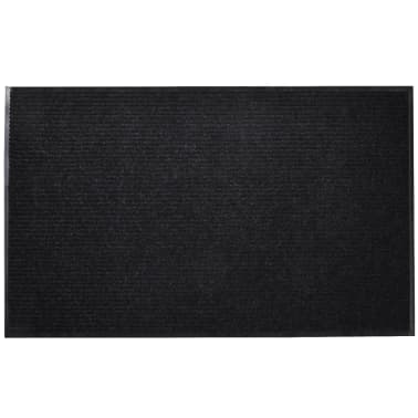 "Black PVC Door Mat 71"" x 94""[3/6]"