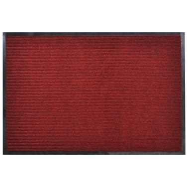 Red PVC Door Mat 2
