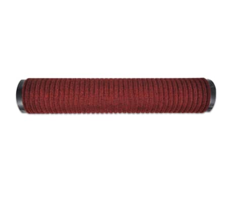 "Red PVC Door Mat 2' 9"" x 1' 9""[4/6]"