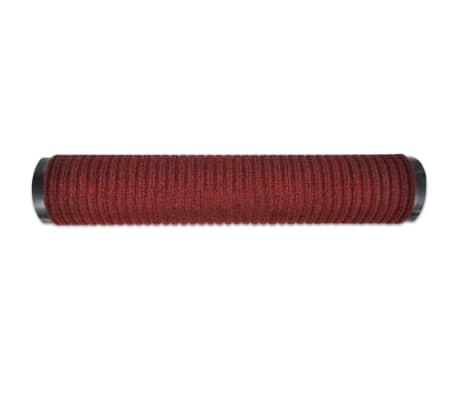 """Red PVC Door Mat 2' 9"""" x 3' 9""""[4/6]"""