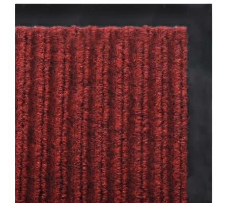 """Red PVC Door Mat 2' 9"""" x 3' 9""""[5/6]"""