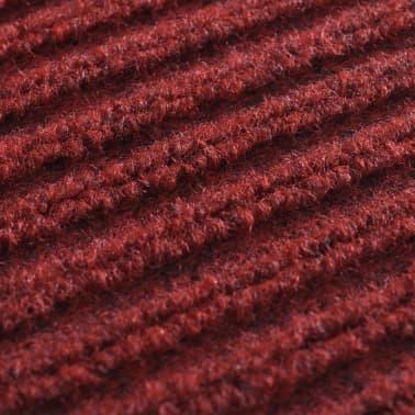Alfombra de entrada de pvc roja 90 x 120 cm for Alfombra 120 x 150