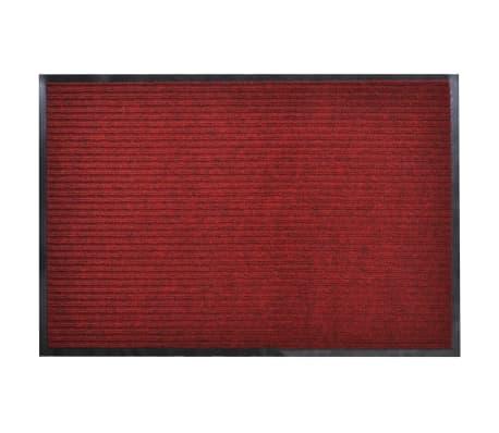 """Red PVC Door Mat 2' 9"""" x 4' 9"""""""