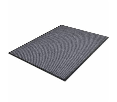 "Gray PVC Door Mat 2' 9"" x 1' 9""[3/6]"