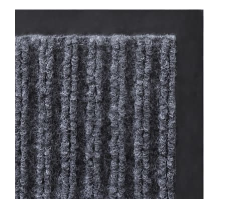 "Gray PVC Door Mat 2' 9"" x 1' 9""[5/6]"