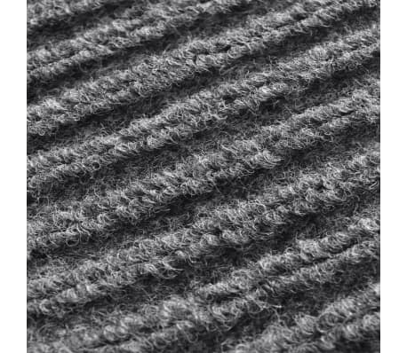 "Gray PVC Door Mat 2' 9"" x 3' 9""[6/6]"