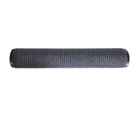 """Gray PVC Door Mat 2' 9"""" x 4' 9""""[4/6]"""