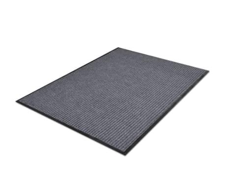 """Gray PVC Door Mat 3' 9"""" x 5' 9""""[3/6]"""