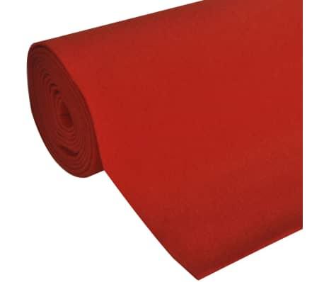 vidaXL rød løber 1x5 m ekstra tung 400 g/m2