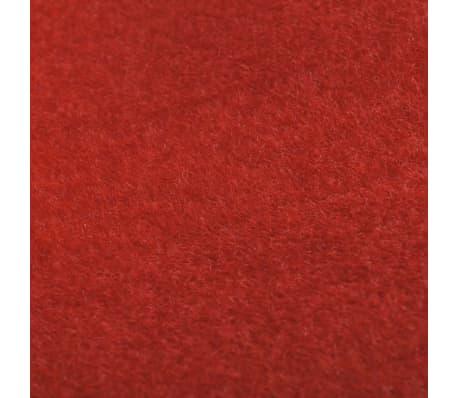 vidaXL Tapis rouge 1 x 10 m 400 g/m²[5/6]