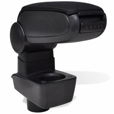 Black Car Armrest for Ford Fiesta MK7 (2009)[1/6]