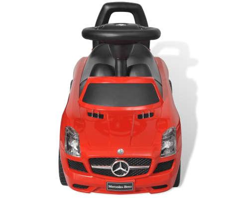 Mașină pentru copii fără pedale Mercedes Benz Roșu[2/8]