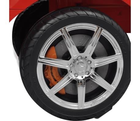 Mașină pentru copii fără pedale Mercedes Benz Roșu[7/8]