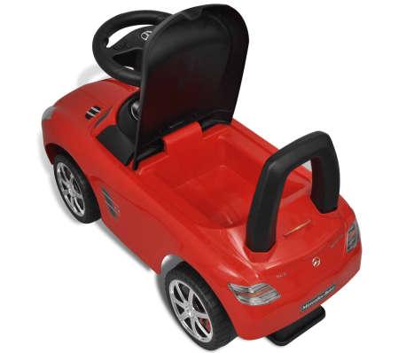 Vidaxl Mercedes Benz Kinderauto Fußantrieb Rot Vidaxlde
