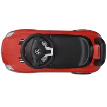 Mașină pentru copii fără pedale Mercedes Benz Roșu[3/8]
