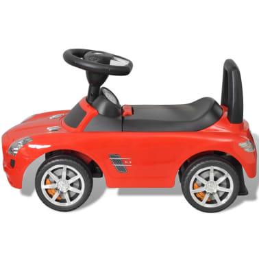 Mașină pentru copii fără pedale Mercedes Benz Roșu[4/8]