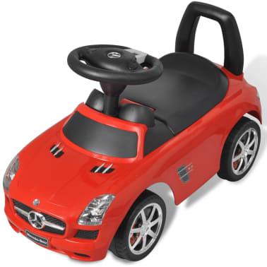 Mașină pentru copii fără pedale Mercedes Benz Roșu[5/8]
