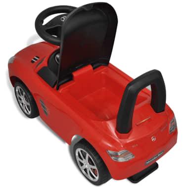 Mașină pentru copii fără pedale Mercedes Benz Roșu[8/8]