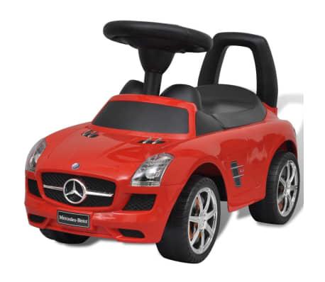 mercedes benz rutscher kinderauto rot g nstig kaufen. Black Bedroom Furniture Sets. Home Design Ideas