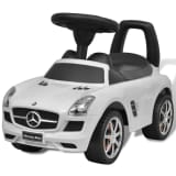 Mercedes Benz Rutsch Kinderauto Weiß