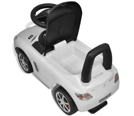 Mercedes Benz Rutsch Kinderauto Weiß[8/8]