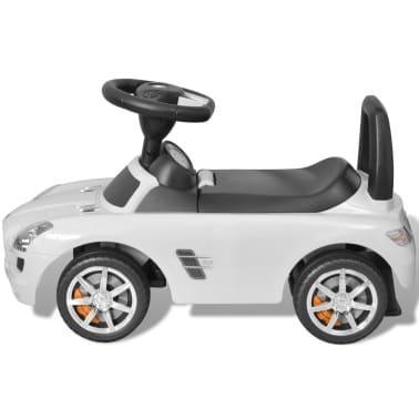 vidaXL Coche correpasillos para niños Mercedes Benz blanco[4/8]